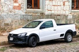 OAXACA, MEXICO - MAY 25, 2017: Pickup Truck Volkswagen Saveiro ...