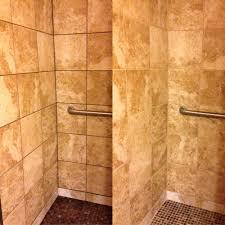 shower stall grout color sealing northwest grout works