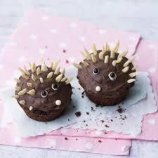 niedliche igel muffins
