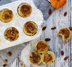 Pumpkin Swirl Cheesecake Bars by Vegan Pumpkin Cheesecake Bites No Bake U0026 Gluten Free Serving