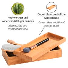 bambus box terra mit deckel