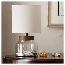 Fillable Table Lamp Clear Glass by Clear Lamps Ebay