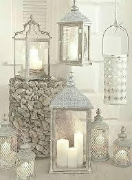 decoração dekorative laternen haus deko kaminkonsole