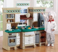 Step2 Grand Luxe Kitchen Toys by Step 2 Deluxe Kitchen Walmart Com