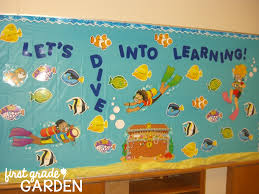 Pumpkin Patch Bulletin Board Sayings by Back To Bulletin Board Let U0027s Dive Into Learning First