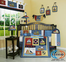 Nautical Crib Bedding by Geenny Boy Sailor Baby Bedding Collection Baby Bedding And