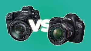 100 24 Casa Mk Canon Eos R Vs Canon 5D IV Lo Scontro In Casa