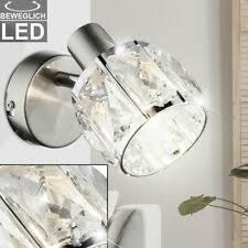 beleuchtung hochwertige design led wandle kristalle glas