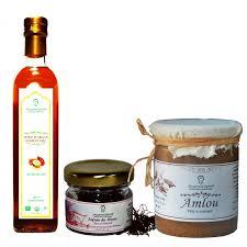 huile argan cuisine amlou spreadable paste 500 gr argan culniary 250 ml saffron