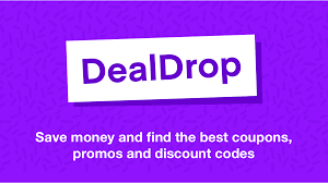 DealDrop - Coupons, Promo Codes, Deals & Discounts