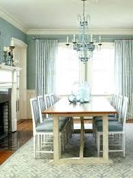 Grey Dining Room Ideas Blue Walls Light
