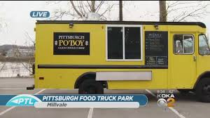 Food Truck Park Opening In Millvale - YouTube