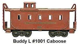 caboose l buddy l trains