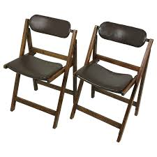 Pair Of Edwardian Oak & Leather 'Tansad' Folding Chairs Qyyczdy Folding Ding Chair Wooden Faux Leather Backrest Stool 1960s Italian Chrome Chairs By Elios Lane Bonded Set Of 2 Christopher Knight Home Tanner Goods Nokori Man Many Pair Fauxbamboo Campaign With Handstitched Achica Teak Chair Tripolina Cowhide Transfer Chair Lassen Saxe Oak Wood Natural Leather Chairs Oslo Folding Boconcept Palermo Tripolina