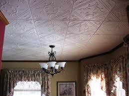 i made a faux tin ceiling in my sunroom after finding out how much
