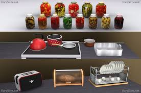 Kitchen Apple Decor Sets The Sims 3 Regarding Designs Extraordinary