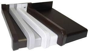 appuis de fenêtres en aluminium étirés nez 25 mm appui de fenêtre