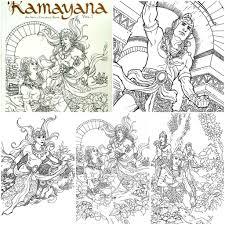 Indo Buku Mania On Twitter Epos Ramayana Coloring Book Contact Us For Details We Ship Wordwide Tco OPu5j91UTm