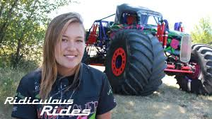 100 Hot Female Truck Drivers Americas Youngest Pro Monster Driver RIDICULOUS