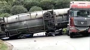 100 Cement Truck Video Nine People Were Killed And Two Injured After A Cement Tanker Truck