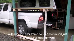 How To Remove Camper Topper By Yourself - YouTube Man Cheats Death After Truck Lands On Top Of His Car Thika Town Arb Roof Top Tent Tips Tricks How To Put Up Your Tent Life As An Artists Wife Cowboy Bought A Truck Diy Bed Camper Build Album Imgur Gas Props And Shell Parts Cluding Boots 1 10th Scale 6x6 Rc Heck Of Say Hello To Black Peter Luxury Truck Cap Camping Youtube Top Tethering In A Four Things Consider When Choosing Lift Kit For Loading Logs Onto Selective Logging Grade Hard Now Hiring Pros Cons Starting Career Driver