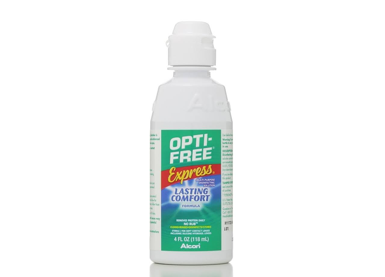 Opti-Free Express Everyday Comfort - 4Oz