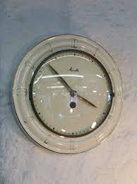 100 Mauthe Ceramic Cream Wall Clock