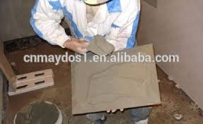 cement based chemical adhesive for concrete floor tiles of
