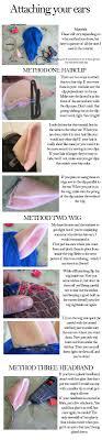 how to make cat ears how to make cat ears for the miccostumes