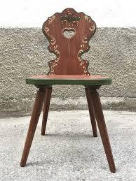 voglauer stuhl sessel bauernsessel bauernstuhl handbemalt