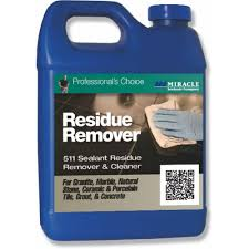miracle sealants 128 oz sealant residue remover and cleaner res
