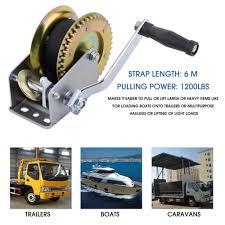 Hot Sale Heavy Duty 1200lbs 6M Strap Boat Truck Auto Hand Manual ...