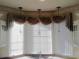 Kmart Curtains And Valances by Swag Curtain Valance Over Wood Blinds Swag Curtains Pinterest