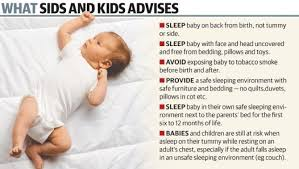 go ask mum what you need to know about sids sudden infant death