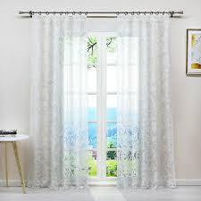 gardinen ausbrenner vorhänge wohnzimmer schlaufen ösen