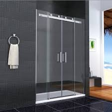 Contemporary Portable Shower Stall With Sliding Door superb 1700