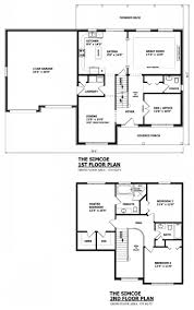 The Two Story Bedroom House Plans by 2 Story 1 Bedroom Floor Plans House As Well 3 In 4 Bat Luxihome