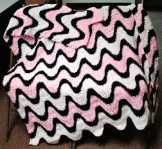 Free Exaggerated Ripple Crochet Afghan Pattern manet for