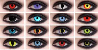 Prescription Contact Lenses Halloween Uk by Try A New Look This Halloween Dozens Of Scary And Lenses