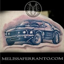 Tattoos By Melissa Ferranto Car 69 MUSTANG