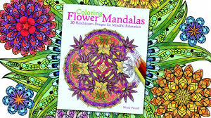 Flower Mandalas Coloring Book Coming In 2015
