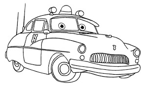 Simple Coloring Disney Pixar Cars Characters Pages With Printable 55 3098