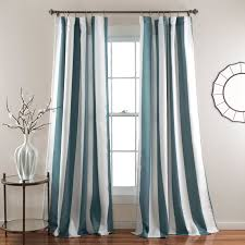 Lush Decor Serena Window Curtain by Half Moon Wilbur Window Curtain Set Hayneedle