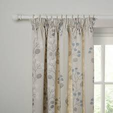 buy john lewis seedlings lined pencil pleat curtains online at