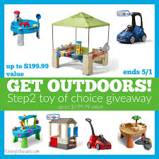 Step2 Rain Showers Splash Pond by Get Outdoors With The Best Step2 Toys For Spring 2017 Raising
