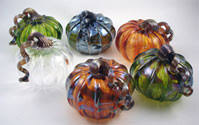 Blown Glass Pumpkins Boston by Glass Pumpkins U0026 Hearts Massachusetts Bay Trading Company