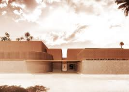 Musee Yves Saint Laurent Marrakech Exterior Photography Courtesy Of Studio KO Fondation Pierre Berge