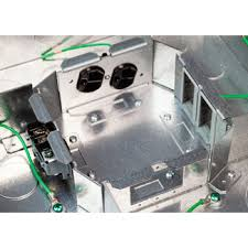 rfb4e four compartment single or multi service recessed floor box