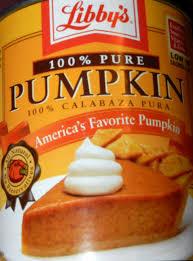 Pumpkin Pie Libbys Recipe by Gluten Free Brands Libby U0027s Pumpkin Pie Filling