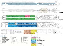 Carnival Splendor Panorama Deck Plan by Cruiseco